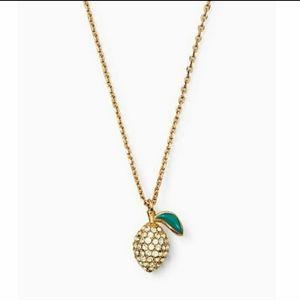 Kate Spade Picnic Perfect Lemon Gold Mini Pendant